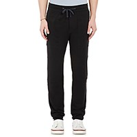 James Perse Men's Stretch Jersey Sweatpants Black Blue Black Blue