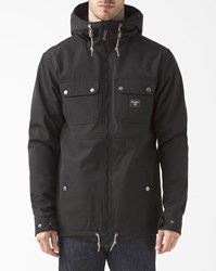 Billabong Matt Black Technical Parka
