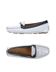 Ice Iceberg Footwear Moccasins Women White