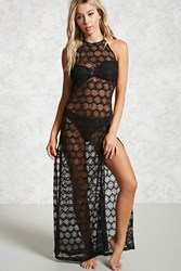 Forever 21 Lace Halter Cover Up Dress