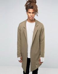 Black Kaviar Long Jacket Khaki Green