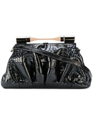 Giorgio Armani Vintage Shoulder Bag Black