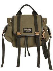 Moschino Cotton Canvas Backpack