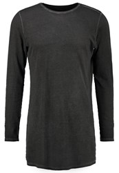 Boom Bap Storm Long Sleeved Top Washed Black