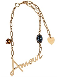 Lanvin Amour And Swarovski Necklace