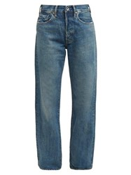 Chimala Loose Leg Selvedge Denim Jeans Denim