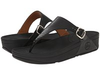 Fitflop The Skinny Black Women's Clog Mule Shoes