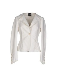 Cnc Costume National C'n'c' Costume National Suits And Jackets Blazers Women Ivory