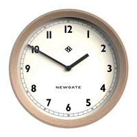 Newgate The General Wall Clock Solid Oak