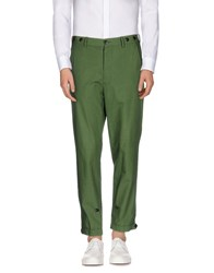 Umit Benan Trousers Casual Trousers Men Military Green