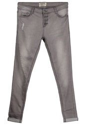 Sublevel Slim Fit Jeans Grey Denim