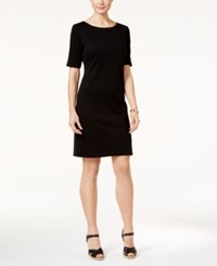 Karen Scott T Shirt Dress Only At Macy's Deep Black
