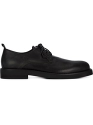 Ann Demeulemeester Grise Classic Derby Shoes Black