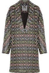 Milly Lola Brocade Coat Brass