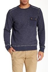 Jeremiah Crew Neck Sweatshirt Blue