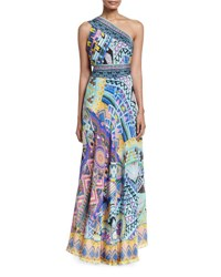 Camilla Embellished Sarong Multi Wear Silk Maxi Dress Alice In Essaouir