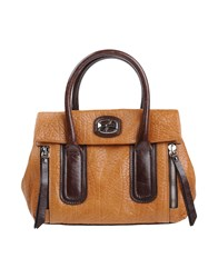 Francesco Biasia Handbags Camel