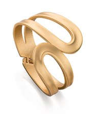 Fiorelli Costume Matt Gold Open Wrap Bangle