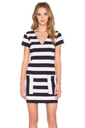 1.State Patch Pocket Shift Dress Navy