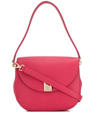 Furla Embossed Shoulder Bag 60