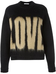 Givenchy Love Printed Sweater Black