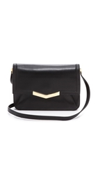 Time's Arrow Affine Small Shoulder Bag Black