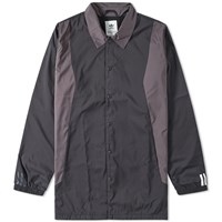 Adidas X White Mountaineering Long Coach Jacket Black