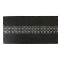 The Just Slate Company Deco Slate Table Runner