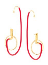 Paula Mendoza Shiva Earrings Red