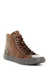 Frye Grand High Lace Up Sneaker Gray