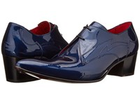 Jeffery West Gibson Blue Men's Lace Up Bicycle Toe Shoes