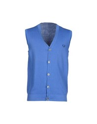 Fred Perry Knitwear Cardigans Men Blue