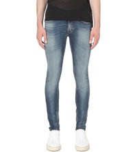 Tiger Of Sweden Slim Fit Skinny Jeans Ground Mid Blue