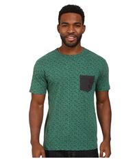 Matix Clothing Company Folk Pocket T Shirt Hunter Men's T Shirt Green