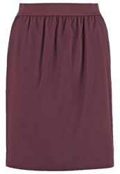 Opus Rutti Puffball Skirt Dark Port Bordeaux