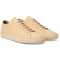 Common Projects Original Achilles Leather Sneakers Beige