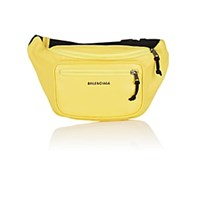 Balenciaga Explorer Arena Leather Belt Bag Yellow
