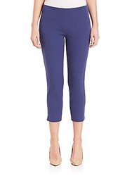 Elie Tahari Juliette Cropped Pants Boho Blue