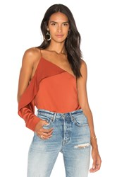 Style Stalker Laylor Top Rust
