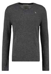 Abercrombie And Fitch Jumper Dark Grey