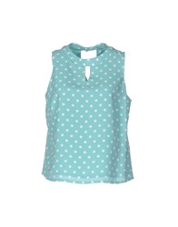 Darling Tops Light Green
