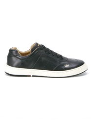 Osklen Panelled Sneakers Black