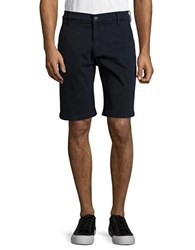 7 For All Mankind Cotton Blend Chino Shorts Midnight