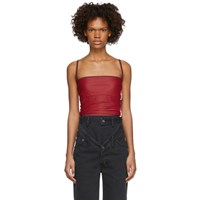 Y Project Red Layered Tank Top