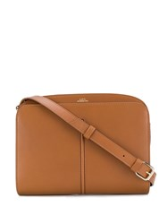 A.P.C. Aurelie Satchel Bag Brown