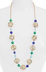Kate Spade Women's New York Brilliant Bauble Station Necklace Multi