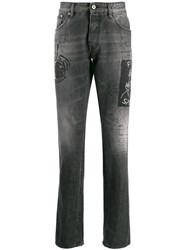 Just Cavalli Straight Fit Stonewashed Jeans 60
