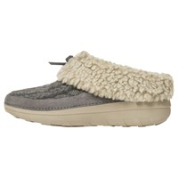 Fitflop Loaff Quilted Slippers Charcoal