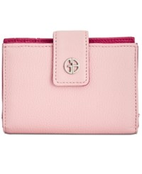 Giani Bernini Softy Framed Colorblock Wallet Created For Macy's Blush Granita