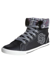 Tom Tailor Granby Hightop Trainers Black
